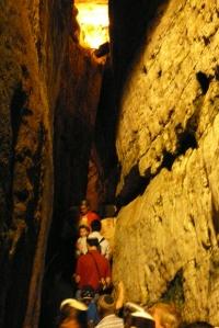 Tunneling under Israel