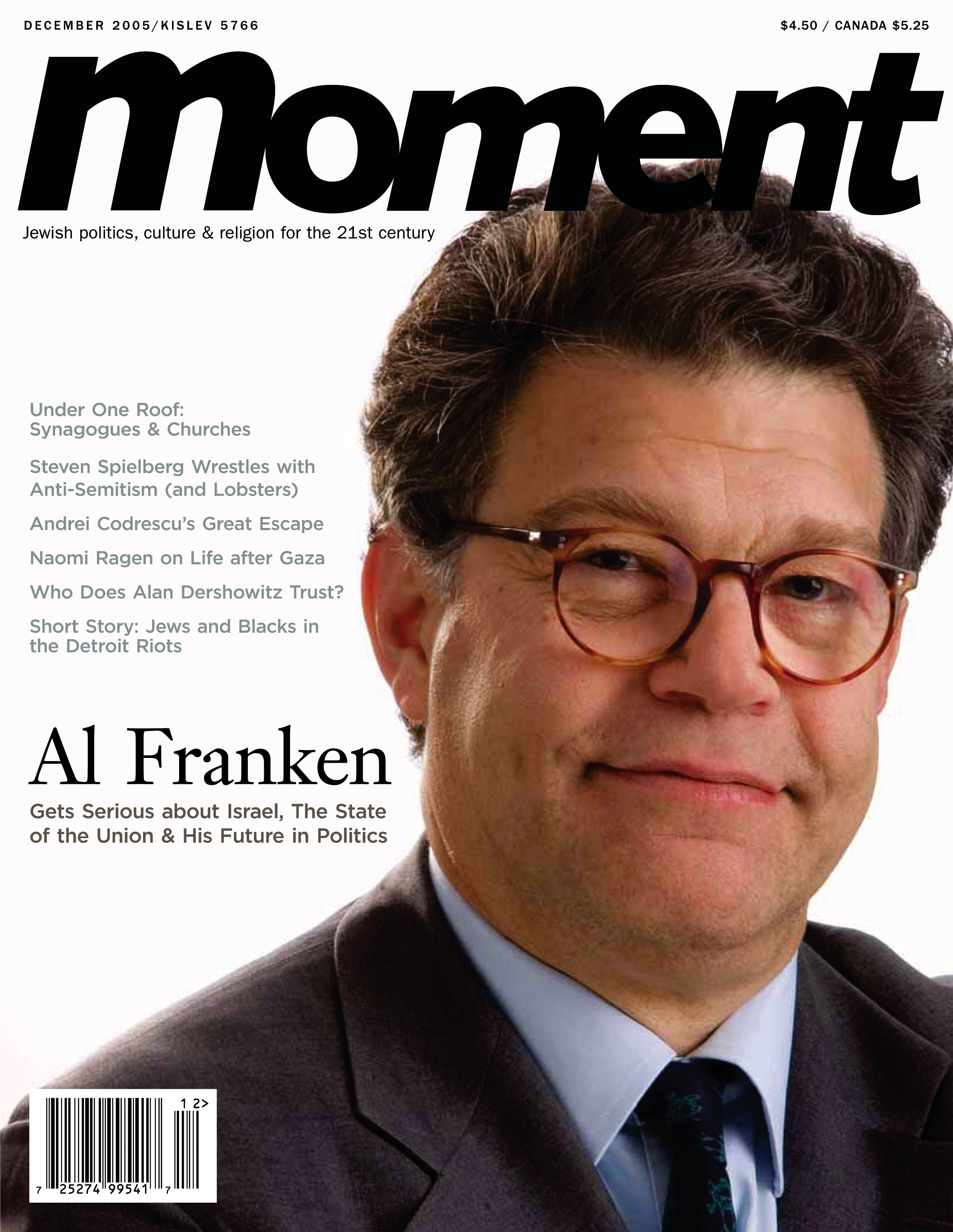 Al Franken… Gets Serious | InTheMoment