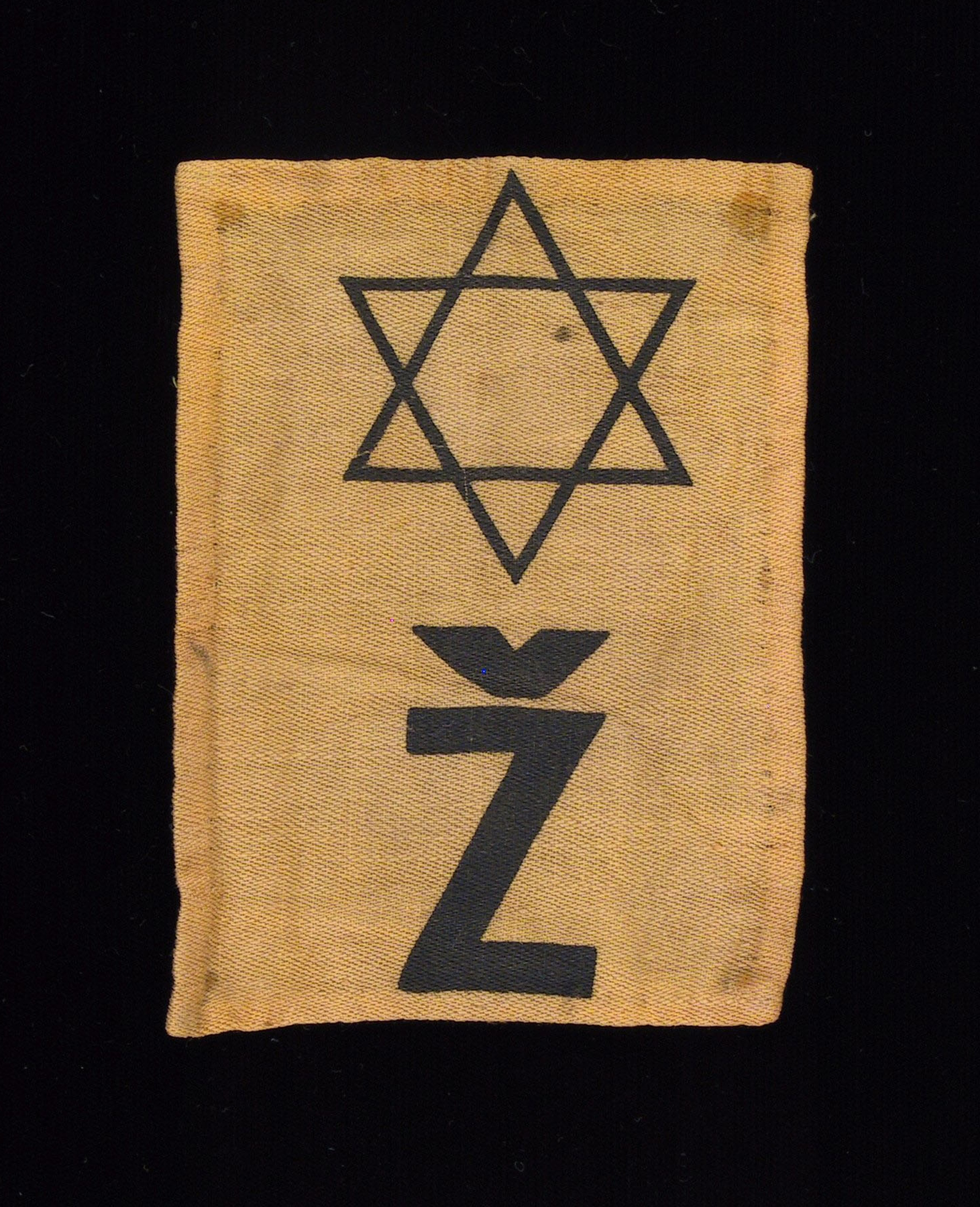 "In Czech, ""Z"" denotes Jewish."